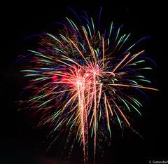 Milton PA Bicentennial Fireworks (charlie_guttendorf) Tags: fireworks guttendorf miltonpa milton2017 nikon nikon18200mm nikond7000 longexposure nightphotography