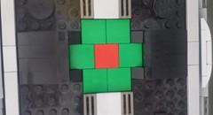 Jabba the Hutt's TIE Fighter - Wing panel (Evilkirk) Tags: starwars lego jabba hutt tie fighter moc