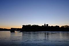 Rhône Morning #4 (A. Nothstine) Tags: avignon france provence rhone south winter christmas river morning pont davignon sky