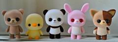 Urumeme Cuteness <3 (Lawdeda ❤) Tags: urumeme japans answer sylvanian family panda bear bunny chick that guy toy fun saturday picmonkey