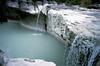 Pazin, waterval in de Fojbarivier, Istrië Kroatië 1986 (wally nelemans) Tags: pazin fojba rivier river waterval waterfall istrië istria kroatië croatia hrvatska 1986