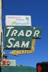 TRAD'R SAM Sign - San Francisco, Calif. (hmdavid) Tags: vintage neon sign sanfrancisco california tradr sam polynesian drinks tiki bar