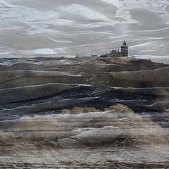 Coquet Island (Ali's view) Tags: sky sand multipleexposure northeast coast island ripples