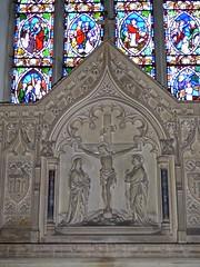 Herstmonceux - All Saints' Church (Glass Angel) Tags: allsaintschurch herstmonceux eastsussex reredos