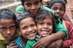 Photo, photo, photo... (Andrew G Robertson) Tags: varanasi india street children village smile streetphotography happy kids child