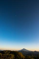 2017 June Fuji evening scenery
