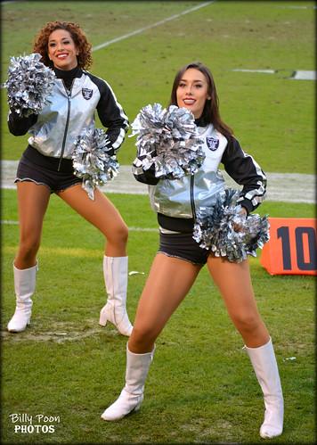 2016 Oakland Raiderettes Jessica & Monica