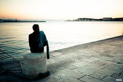 Solitary Sunset (The Hobbit Hole) Tags: sunset split nikon d700 2470mmf28g croatia