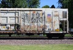 Erupto (quiet-silence) Tags: graffiti graff freight fr8 train railroad railcar art erupto a2m sws armn reefer unionpacific armn769094