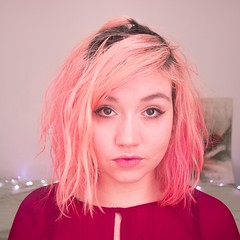 (shinebrightx) Tags: cute girl pinkhair colorful colorfulhair