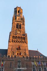_DSC1841 (Eric Santucci) Tags: belfry bruges mainsquare belfort brügge belgium architecture building city grotemarkt