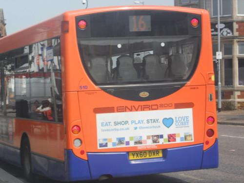 Centrebus 510 YX60 DXR