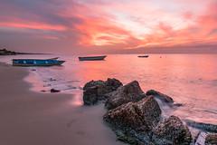 Sunset Beach (ilovetrinidadandtobago) Tags: beach pointfortin seascape sunsetbeach trinidadtobago zaj ziadjoseph ziadjosephphotography ilovetrinidadandtobagocom nikond750 trinidadandtobagophotography nikon1635f4 sunset goldenhour sky ocean secluded offthebeatenpath