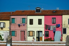 Laundry Day in Venice 2 (bmasdeu) Tags: venice italy afternoon saturday laundry clothes housework chores colorful buildings