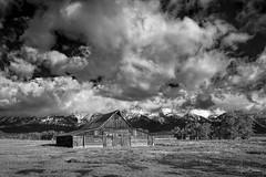 Grand Teton Moulton Barn 4 (Jason Blalock) Tags: grandteton grandtetonnationalpark grandtetons grandtetonsnationalpark park nationalpark nationalparkservice nps wyoming barn moultonbarn mormonrow rustic infrared mountains
