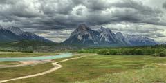 Kootenay Plains - Springtime (John Payzant) Tags: hdr panorama kootenay plains alberta canada abarham lake
