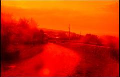 20160824-154 (sulamith.sallmann) Tags: weg blur cotentin effect effekt filter folientechnik france frankreich lahague manche normandie red rot siouville unscharf way fra sulamithsallmann