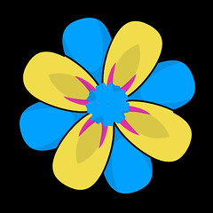 flower 1279 icon (kwippe) Tags: icons clipart vector