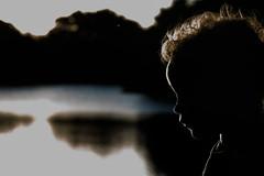 solomonsillhouette (angelagraebner) Tags: rimlight children sunset