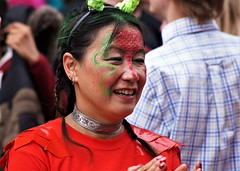 Lovely smile (dlanor smada) Tags: whizzfizzing aylesbury bucks carnival people candids oriental