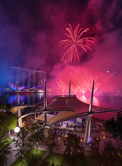 (rh89) Tags: select singapore national day fireworks firework ndp 2017 esplanade theatres bay smoke atmosphere atmospheric skyline marina sands outdoor view pink red night landscape urban city cityscape architecture celebration celebrate celebrations