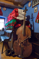 Bowed Double Bass (fesign) Tags: architecture art bed bench boots burn ceramic cleanroom contrabass decoration detail doublebass embroidery ethnography folk folkcustoms folkart folklore heritage home house hungarian interior jug museum musicalinstrument old peasant picture pillow plate romania room rural rustic sic standupbass stringbass szék traditional traditionalart transylvania uprightbass village vintage wood wooden