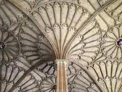 Christ Church College, Oxford (PeterCH51) Tags: uk england oxford christchurch college christchurchcollege peterch51 architecture vault ceiling iphone