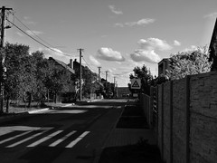 svatoslav_street_bw (ladic_1) Tags: panasonic dmc fz50 bw street svatoslav clouds czech