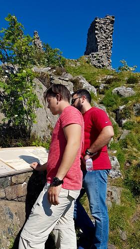 Visiting Castle Moil in Kyleakin