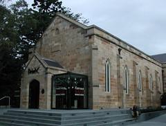 Old Paddington church now has SALES (spelio) Tags: sydney 2017 travel nsw australia june longweekend