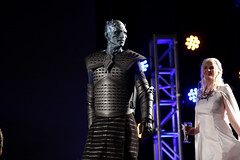 Night King cosplayer (Gage Skidmore) Tags: night king white walker cosplay cosplayer con thrones game hbo 2017 gaylord opryland resort convention center nashville tennessee