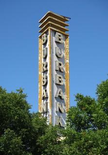 The Burbank Theatre Peeks Through The Trees...