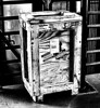 The Crate (Eyellgeteven) Tags: crate crates box wood wooden fragile donotdrop handlewithcare processed blackandwhite bw modified old container shippingcontainer woodenbox nail nails mystery mysterious shipped address label labels sticker stickers warning warningsign thissideup eyellgeteven