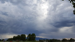 Awesome clouds at a tee ball game (Aggiewelshes) Tags: phone s6 june 2017 landscape scenery teeball clouds