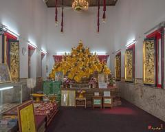 Wat Apson Sawan Phra Ubosot Interior (DTHB1913) วัดอัปสรสวรรค์ ด้านใน พระอุโบสถ