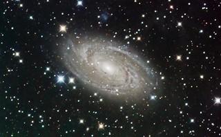 M81 Galaxy in Ursa Major
