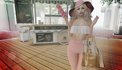 Shopping is cardio...right (FaithA94) Tags: slphotography sl summer secondlife catwa maitreya shopping allabout ~bbd~poses classysummer 3dart icecream zenith posejunkie wredziaa