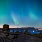 Aurora at night thumbnail