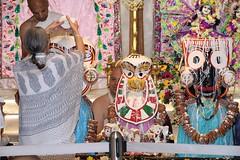 Snana Yatra 2017 - ISKCON-London Radha-Krishna Temple, Soho Street - 04/06/2017 - IMG_2416 (DavidC Photography 2) Tags: 10 soho street london w1d 3dl iskconlondon radhakrishna radha krishna temple hare harekrishna krsna mandir england uk iskcon internationalsocietyforkrishnaconsciousness international society for consciousness snana yatra abhishek bathe deity deities srisri sri lord jagannath baladeva subhadra 4 4th june summer 2017