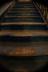 Worn (ellyoracle77) Tags: minsk belarus geometry architecture bannister soviet staircase hostel