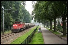 DBC 6418+Zacens'en te Emmen (MyronvRuijven) Tags: emmtec lutterade dsm emmen dbc db bediening stamlijn 6418 nacco ketelwagens zacens