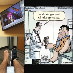 Pretty much my day... Nothing serious just gotta stop walking apparently. #Flinstones #foot #doctor #tendons #cartilage #health #valet (Michael Moran-Diaz) Tags: ifttt instagram pretty much day nothing serious just gotta stop walking apparently flinstones foot doctor tendons cartilage health valet
