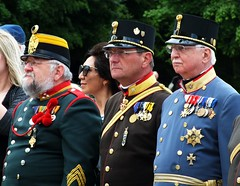 Military Men (John of Witney) Tags: uniform soldiers austrohungarian imperial gloriette schoenbrunn vienna wien austria osterreich