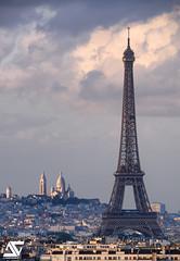 Duo Parisien (A.G. Photographe) Tags: anto antoxiii xiii ag agphotographe paris parisien parisian france french français europe capitale d810 nikon nikkor toureiffel eiffeltower sacrécoeur sigma 150600