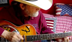 cowboy-frits (Frizztext) Tags: guitarist frizztext cowboy hat country music