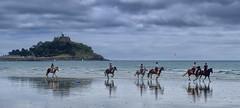 Beach Horses (toasterjones) Tags: horse cornwall kernow sand sea holiday pasty marazion penzance canter gallop