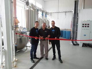 Official opening of distillery in Malden / Ouverture officielle d'une distillerie à Malden