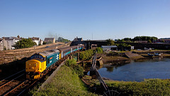 Pipe Smoker (Richie B.) Tags: 2c47 workington cumbria arriva northern drs direct rail services english electric british class 37 37424