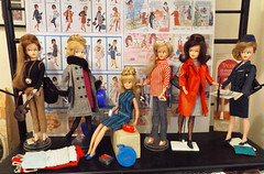 SHORT...OR LONG...OR IN-BETWEEN...TRESSY'S HAIR MAKES HER A QUEEN! (ModBarbieLover) Tags: tressy doll fashion 1964 1965 american character palitoy hair shelf display