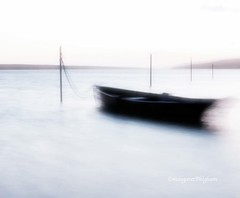Calm waters (Margaret Preuss-Higham) Tags: canoneos canon700 thefleet dorset tranquil tranquility atmosphere sulking smooth longexposure nd4 calm